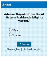 CSS Anket