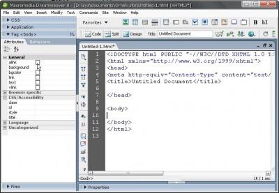 Coder ara yüzü ile DW çalışma ortamı