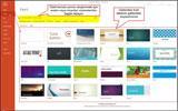 PowerPoint 2013′te Şablonlardan Sunum Oluşturmak